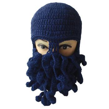 eac177cbf Winter Unisex Beanie Funny Tentacle Octopus Warm Knit Hat Wind-proof Mask -  Buy Winter Unisex Beanie Funny Tentacle Octopus Warm Knit Hat Wind-proof ...