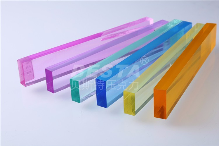 Colored Plexi Glass  4X8  Fence Panel Acrylic Sheets