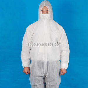 Free sample Industry safety disposable PP SMS workwear coverall