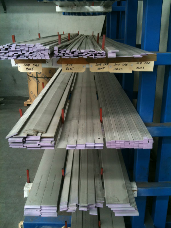 Stock Stainless Steel Flat Bar Steel Beams Standard Sizes