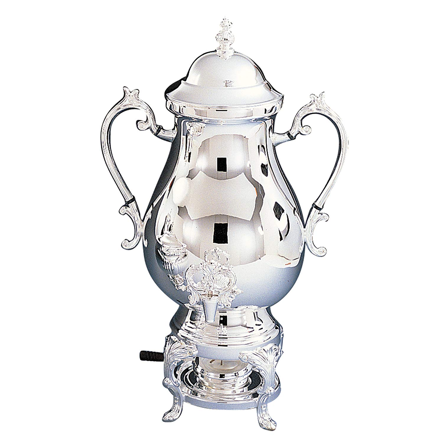 Elegance Silver 89725 Silver Plated Coffee Urn, 50 Cup