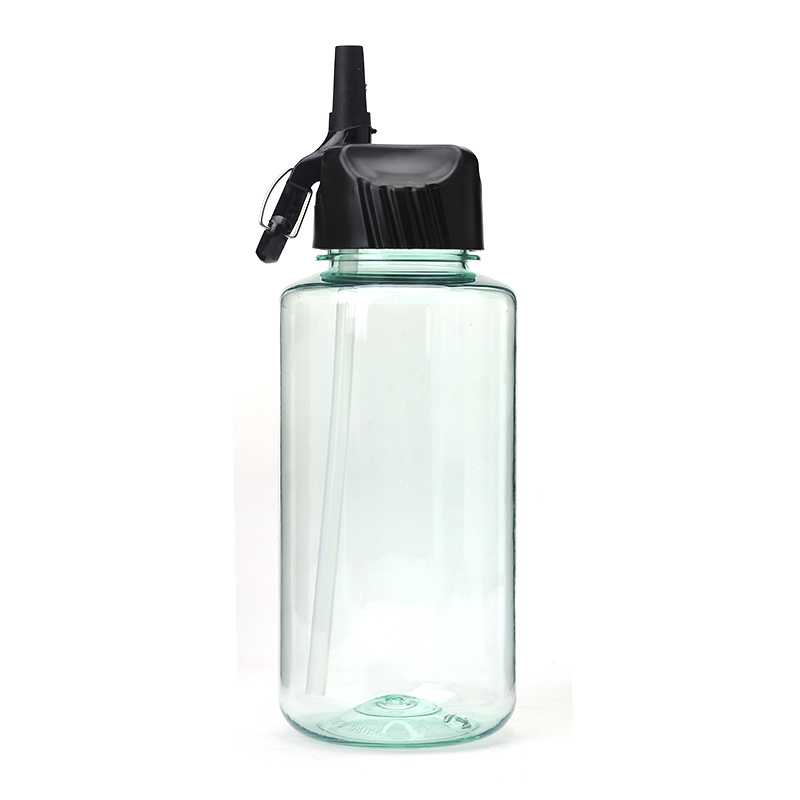 34oz 1000ml bpa free sport water bottle plastic with straw