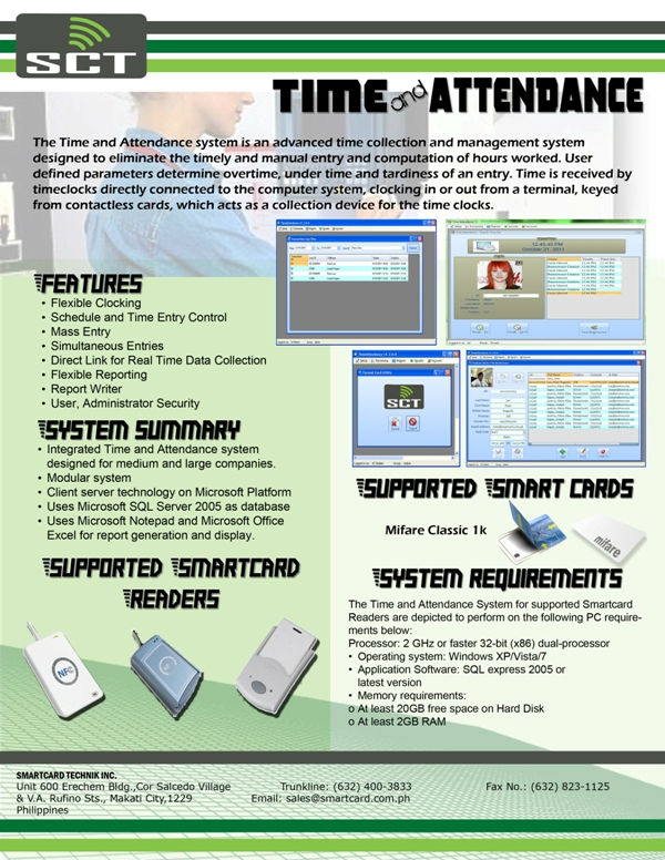 Rfid Based Time Attendance System - Buy Time Attendance Product on  Alibaba com