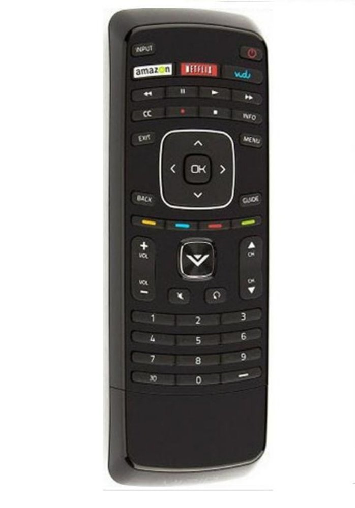 New XRT110 internet APP Remote for vizio E320I-A2 E320i-A0 E322AR E422AR E502AR E370VP E420VT E422VLE M320SL M370SL E422VLE E472VLE E552VLE E322AR E422AR E472VLE/E552VLE and most App internet LCD and LED TV