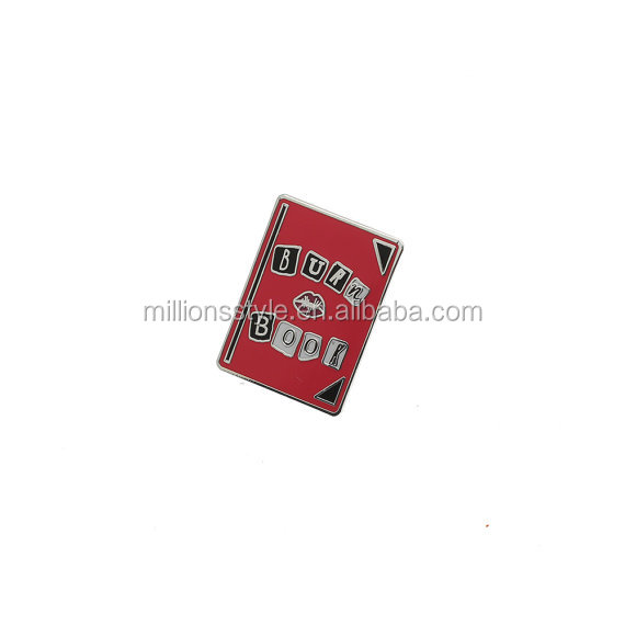 custom heat enamel metal sheets lapel pins from china manufacturers