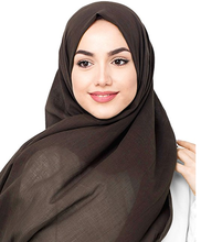 24 colors Pure Color Women fashion turkish hijab malaysia muslim scarf