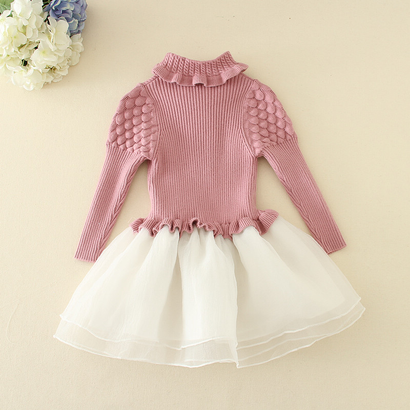19547fdbd beautiful long sleeve new red flower one year baby girls party wear winter  dresses
