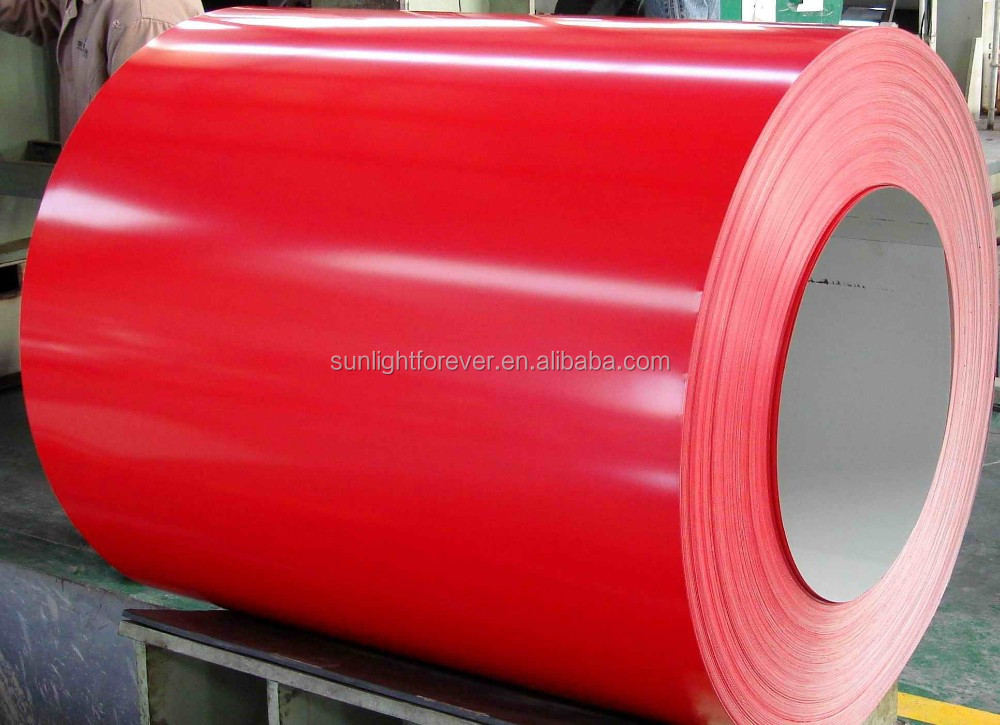 prime color coated steel sheet color ppgi steel coils from tianjin