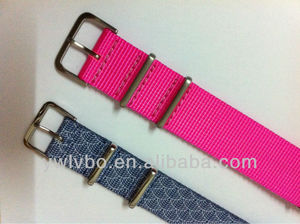 stainless steel watch bands ballistic nylon wrist strap replacement ceramic watch band