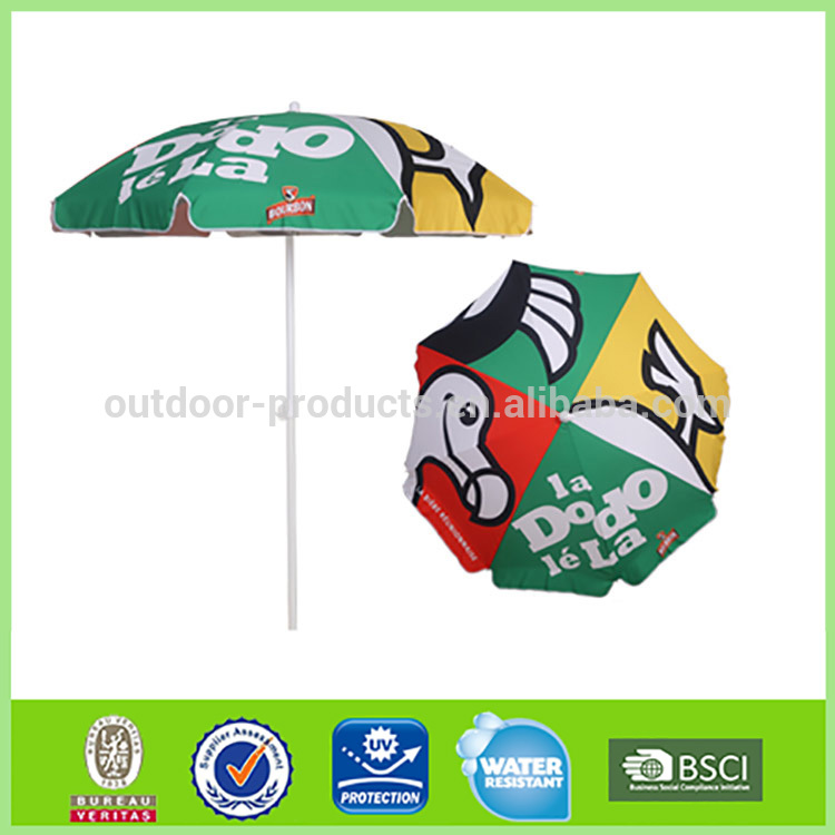 Famous Brand Sun and rain Big printed promotional sun umbrella
