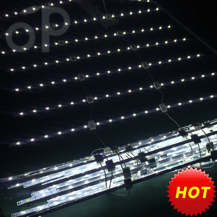 led Scrolling curtain style illumination Diffuse light led rigid bar strips for light box
