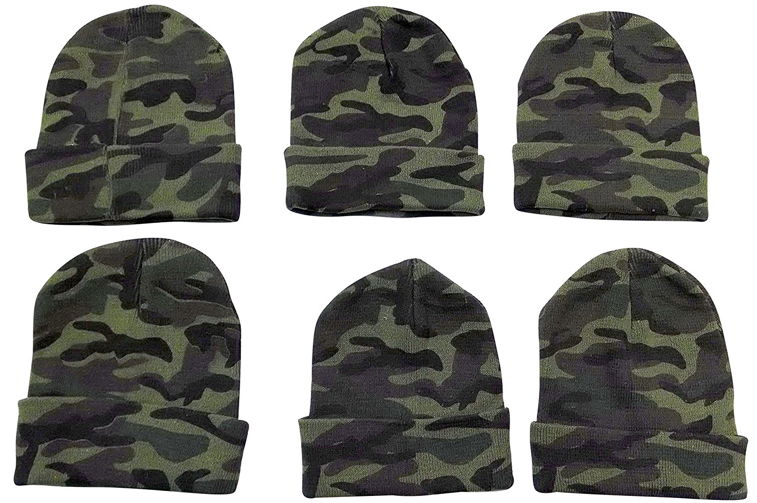 6 Mens Toboggan Hat Black Beanie Hats by excell Thermal Sport Mens Womens,Winter Hats