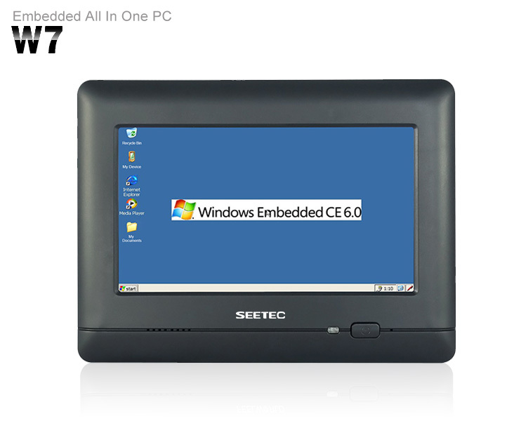 7 Inch Rugged Touch Screen Panel Rs485 Rs232 Industrial Wince Pc ...