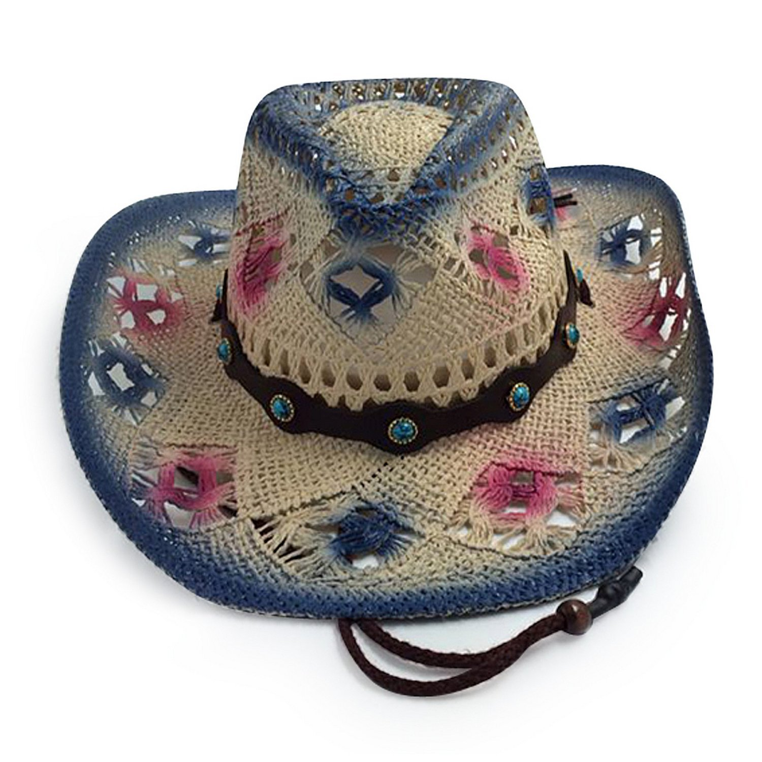 3819e3ffd35 Get Quotations · Old Stone Olivia Women s Cowboy Drifter Style Hat