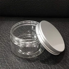 Plastic PS jar pot container 50ml 100ml 180ml 200ml for cosmetic face hair care shampoo body lotion conditioner