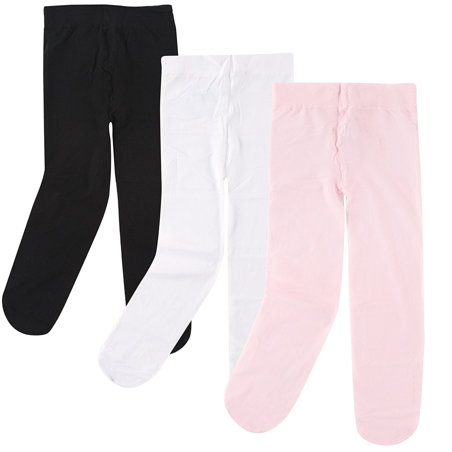 38b18bcdac0 Get Quotations · Luvable Friends Baby Girls  Nylon Tights