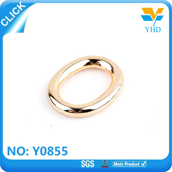 engraving metal o ring metal ring for keychain