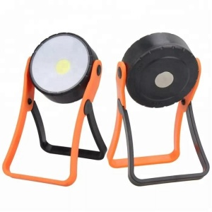 250 Lumen 3*AAA battery power stand COB magnetic worklight
