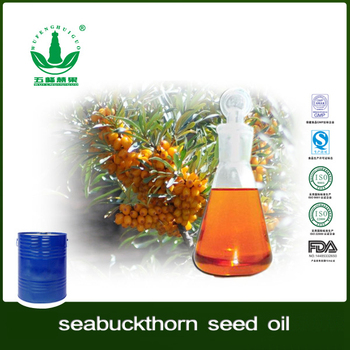 CO2 Supercritical Extract Seabuckthorn Seed Oil Cosmetic Raw Material