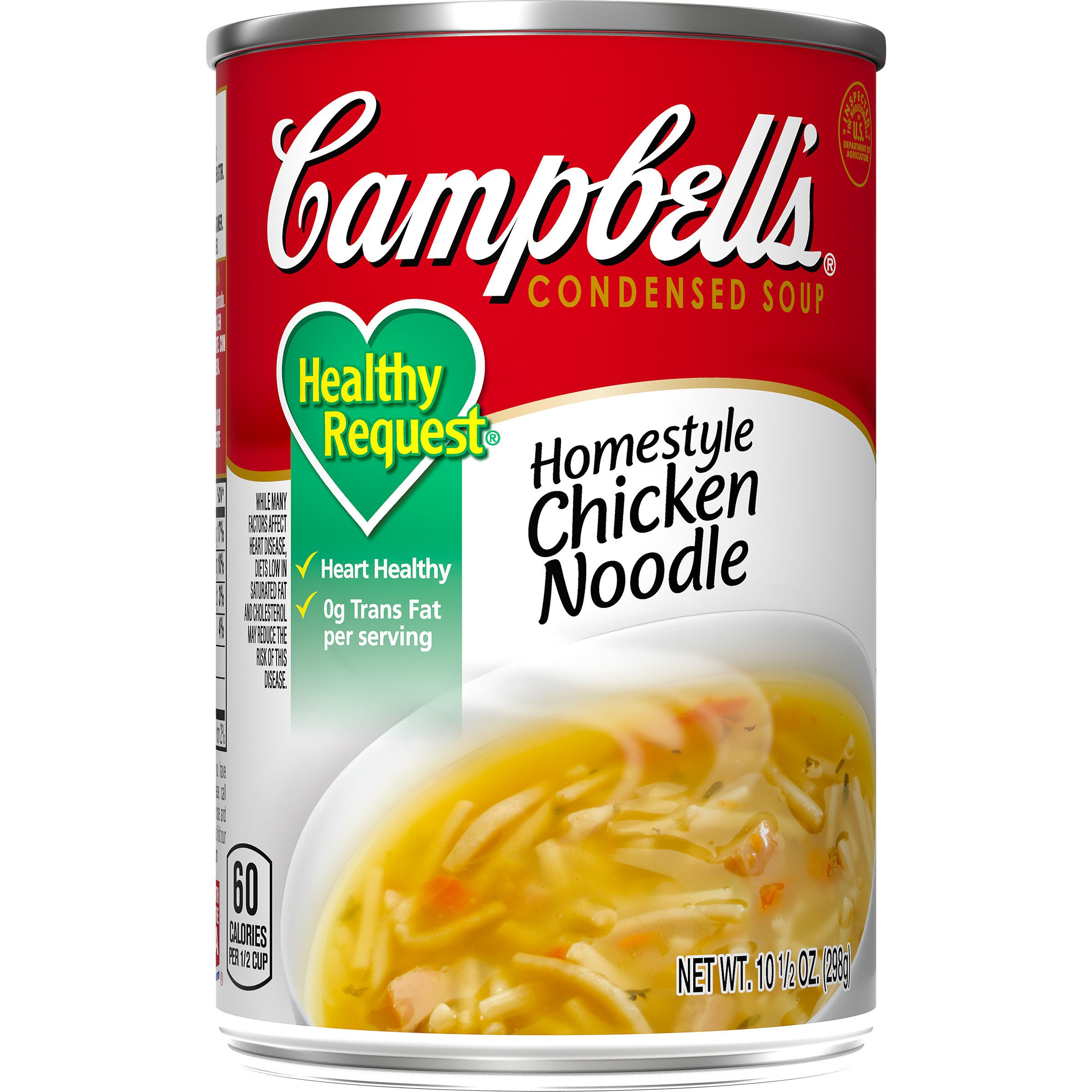 Campbell's Healthy Request Condensed Soup, Homestyle Chicken Noodle, 10.5 Ounce (Pack of 12)