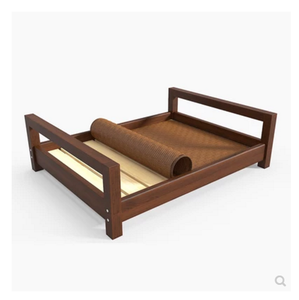 Innovative Product Dog Wooden Bed Big Soft Dog Bed