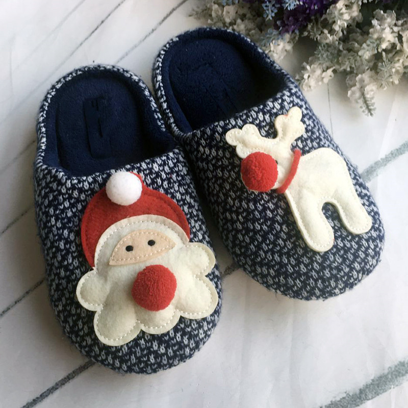 2017 new promotional items newest Eva Christmas slippers