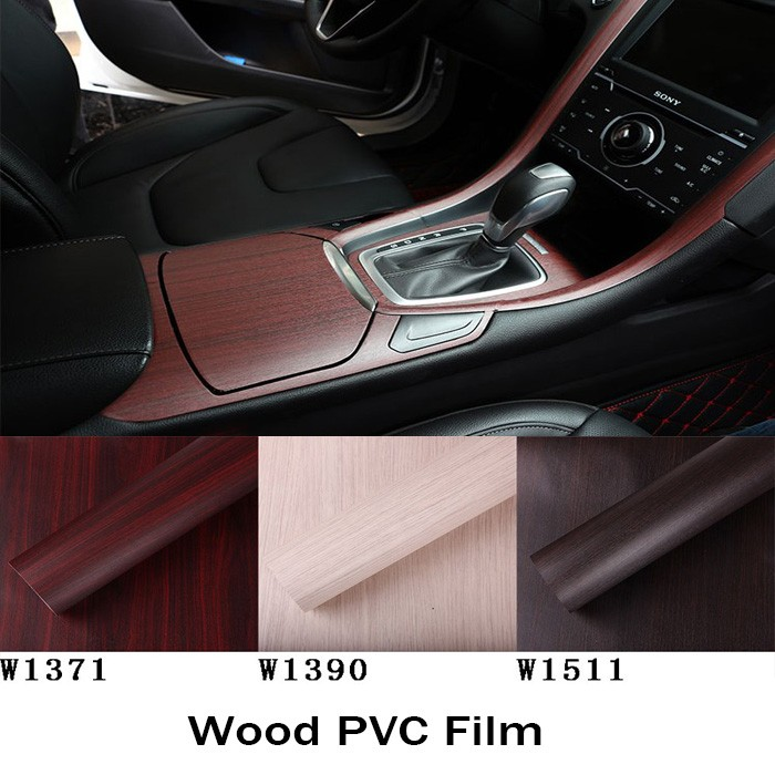 Car Decor Modify Car Interior Senior Wood Grain Sticker  Style - Custom vinyl decals for car interior