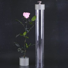 Hot new imports real touch preserved long stem rose packing in luxury box