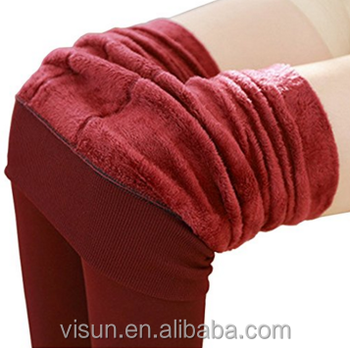 c716f563d New Women s New Winter Thick Warm Fleece Lined Thermal Stretchy Leggings