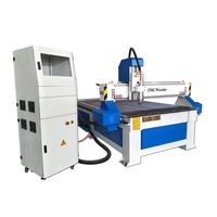 wood cnc router 1325 3 axis 3.2 KW water cooling spindle for 3D works