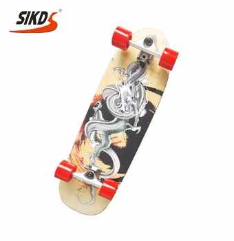 7 ply Canadian maple cruiser longboard surf truck maple skateboard