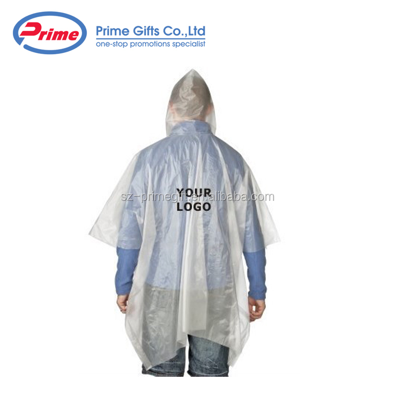 Good Quality Disposable Rain Coat Poncho with Cheap Price