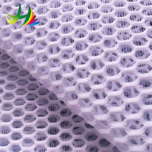 special hexagonal spacer air mesh fabric for weave chair
