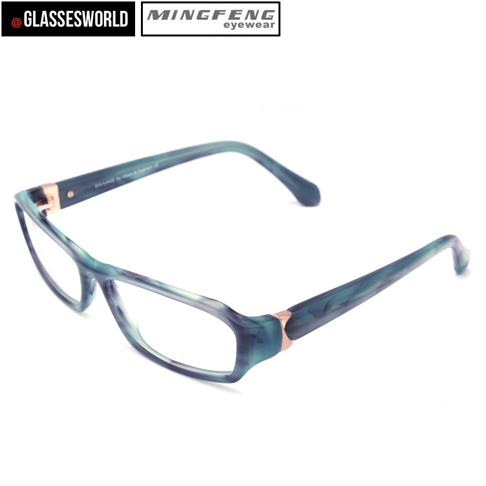 Moda acetato marco óptico nuevo modelos hechos en China EM1105 ...