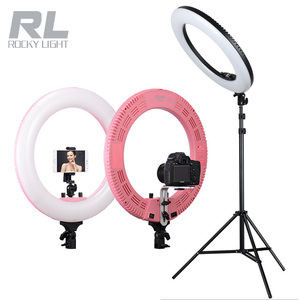 2018 New design 48W 5600K Daylight LED Ring Light for Photography Camera Phone Video Photo Make Up Selfie Light