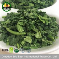 100% Natural FD vegetable freeze dried spinach for fast food