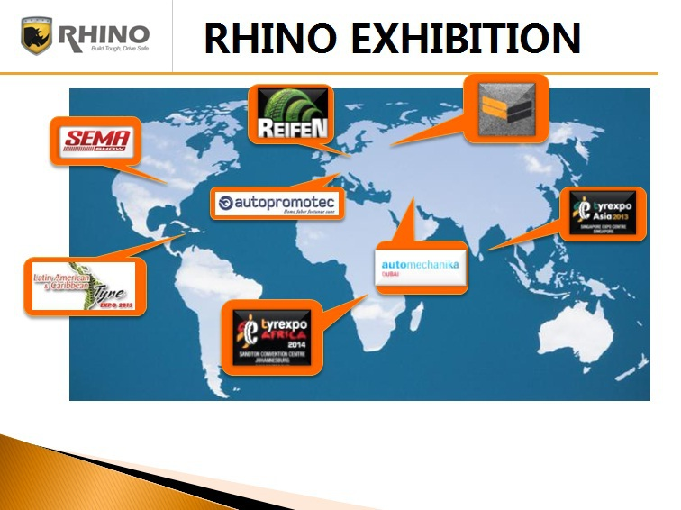 Rhino Tire For Trucks 385/55r22.5,385/65r22.5,425/65r22.5,445 ...