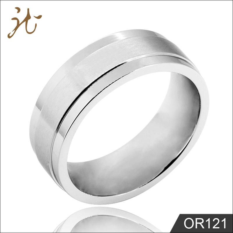 Wholesale Stainless Steel Men Wedding Ring