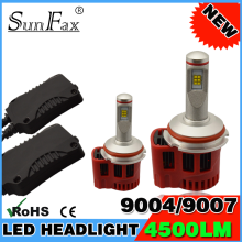 China manufacturer High power 4500 LM LED automobiles & motorcycles Lighting led lamp headlight