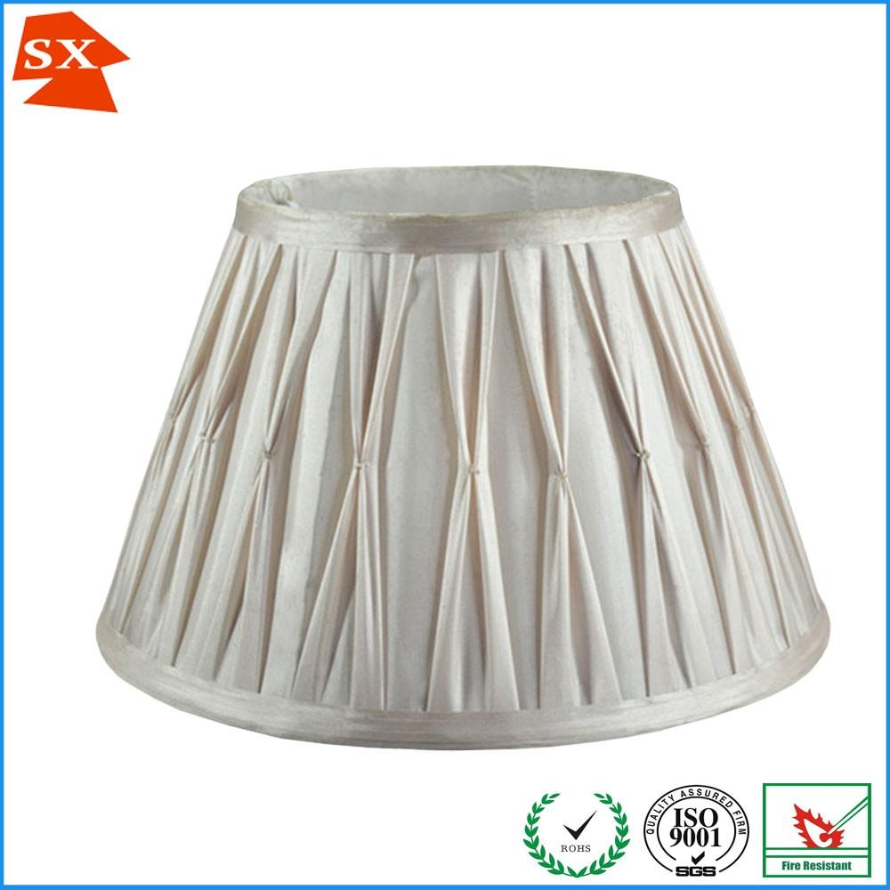 straight drum ruffles fabric reading desk lamp shade buy desk lamp. Black Bedroom Furniture Sets. Home Design Ideas