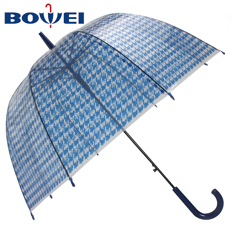 China manufacturer outdoor straight auto open poe umbrella custom print