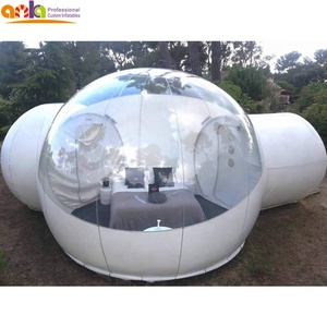 2018 hot sale bubble lodge house,transparent inflatable bubble tent luxury room for outdoor camping rent