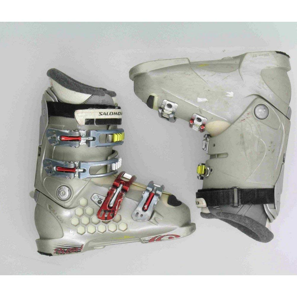 Get Quotations · Used Salomon Rush 880 Gray Ski Boots Women s Size 6 7085e9a53