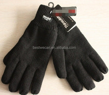 Thinsulate lined knit thermal winter glove for outdoor work or Cold warehouse