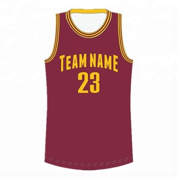 Custom Men Training Full Polyester Sublimated Basketball Kit Best Basketball  Jersey Uniform Design Color Red 40549c055