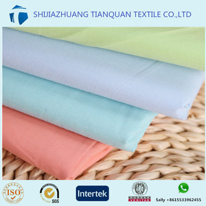 C40*40 133*72 150cm dyed 100 cotton poplin fabric plain cloth material fabric
