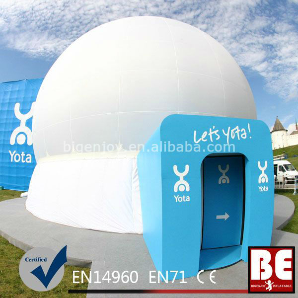 Mobile Inflatable Dome Tent For Projection