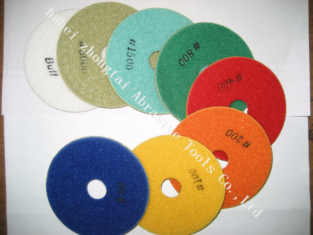 wholesale granite marble diamond polishing pads