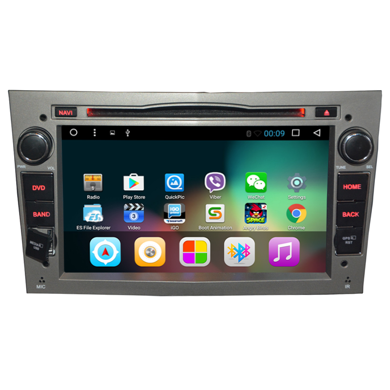 Quad Core Android 7.1 Xe DVD Player Cho Opel Astra H