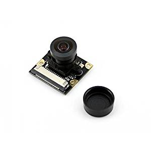 Angelelec DIY Open Sources Sensors, Raspberry Pi Camera Module, Fisheye Lens, Wider Field of View, Raspberry Pi Camera, Supports All Revisions of the Pi, Fisheye Lens, Offers Wider Field of View.